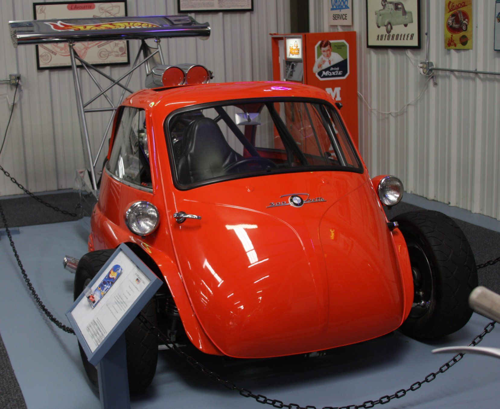 Power Cars Bmw Isetta Quot Whatta Drag Quot Dragster