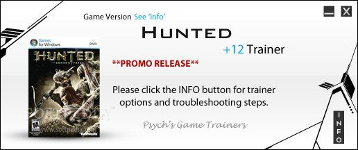 huntedthedemonsforge2tr Hunted: The Demons Forge +2 Trainer