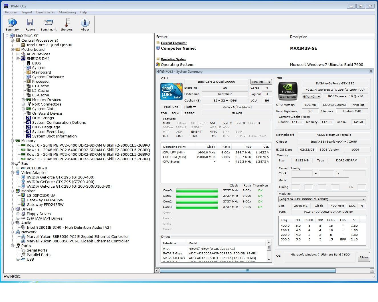 HWiNFO32 v3 00 Released [Archive] - XtremeSystems Forums